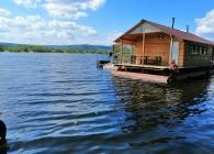 Баня на воде Оазис Самара, остров Электрон, на реке Волга